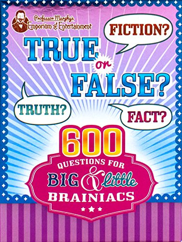 - Professor Murphy's True or False (Professor Murphy Cards)