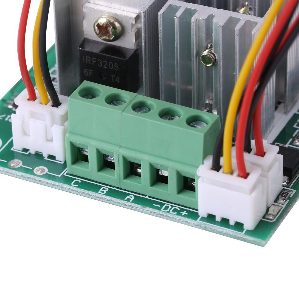 DC 5V-36V 15A 3-Phase Brushless Motor Speed Controller Motor Control Board CW CCW Reversible Switch Motor Driver Control Regulator Module