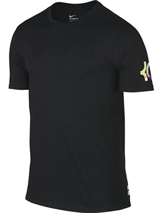 separation shoes b3812 23333 Image Unavailable. Image not available for. Color  NIKE What The KD Mens  Black Kevin Durant Dri Fit Shirt