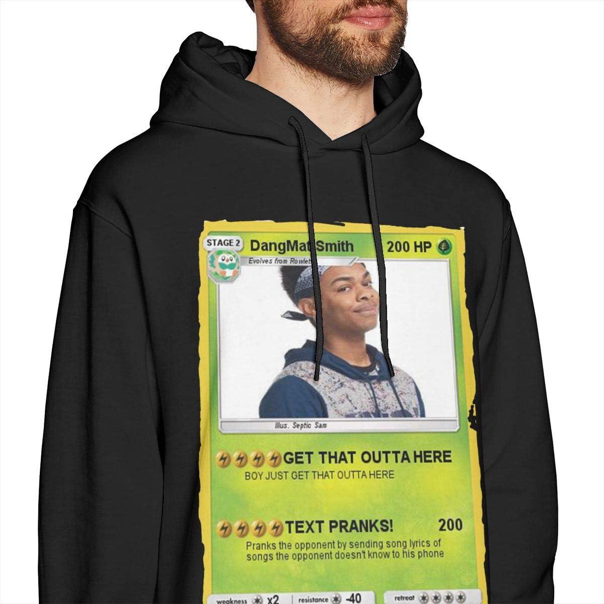 SKFUKS Mens Hoodie Sweatshirt Dang-mattsmith Sweater Black