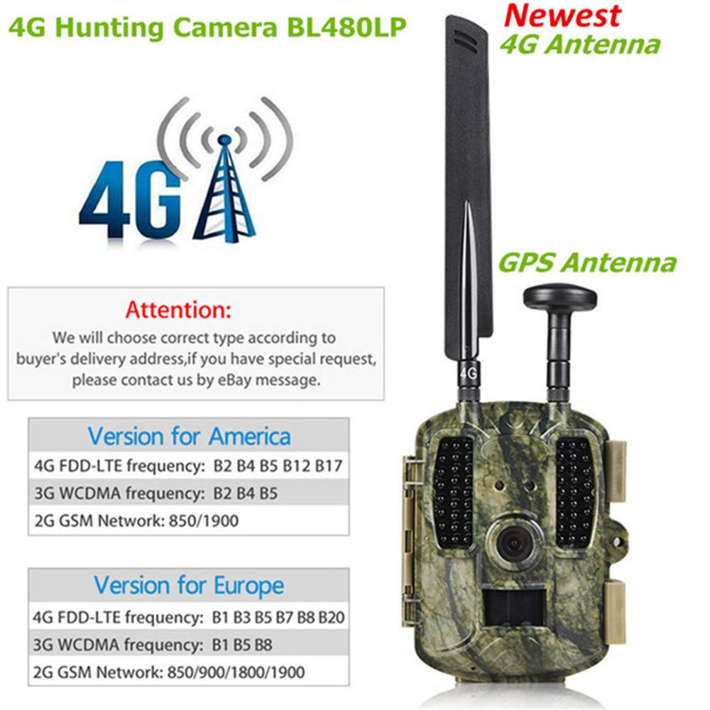 Amazon.com: Four Wildlife Camera 4G Night Vision Waterproof Hunting Trail Game Camera with 3 PIR Sensor 52pcs IR LEDs Digital Surveillance Camera: Home & ...