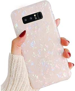 Herbests Kompatibel mit Samsung Galaxy S8 Plus Marmor H/ülle Silikon Case Weich TPU Schutzh/ülle Bling Glitzer Gl/änzend Bunt Slim Schutzh/ülle Crystal Clear D/ünn Handytasche Backcover,Gr/ün