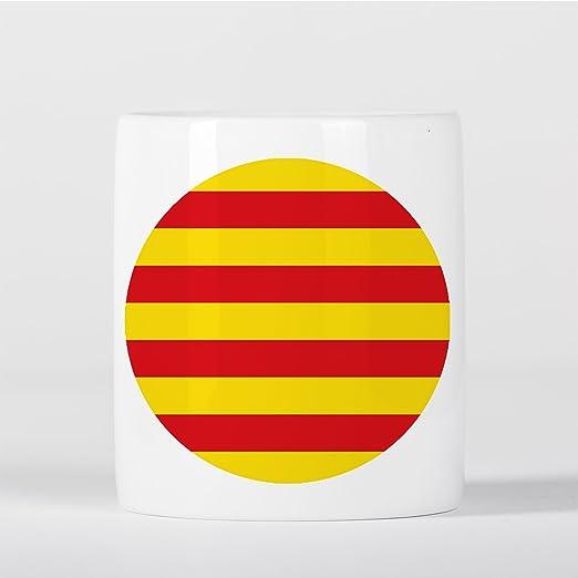 Catalunya Catalan Flag Bandera Català Spanish Española Catalán Hucha: Amazon.es: Hogar