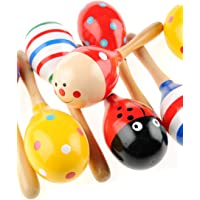 Toys Go Green 3'lü Ahşap Marakas Seti