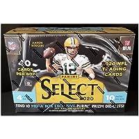 $152 » 2020 Panini Select Football Mega Box - Factory Sealed 2020-21 - 40 Football Cards per box - 10 packs per box