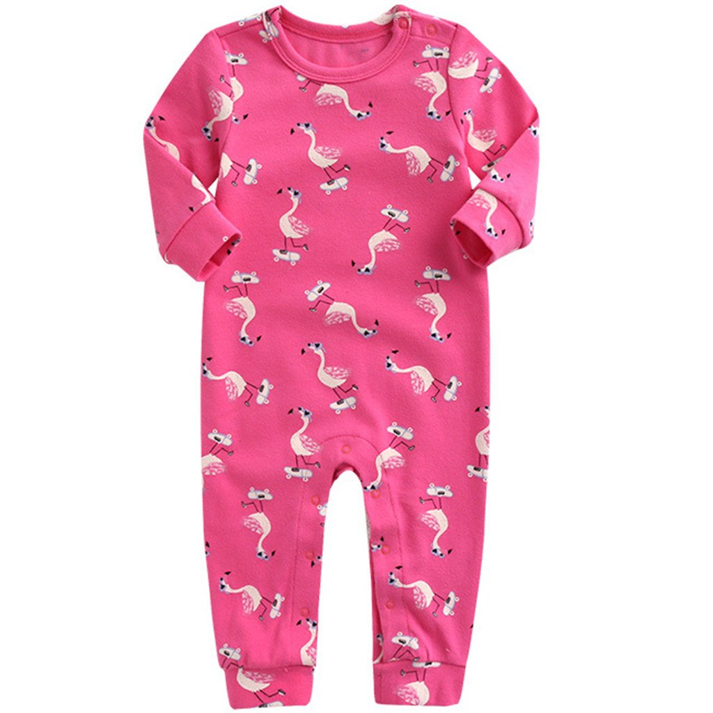 2f6ed2129 Vine Pijama para Bebé Peleles Algodón Mameluco Niños Niñas Body Manga Larga  Trajes de Niños Vine