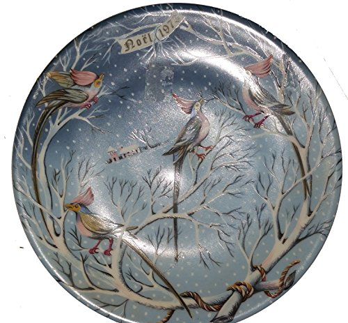Haviland Limoges Twelve Days of Christmas - Four Coly Birds Collector Plate by Artist Rémy Hétreau