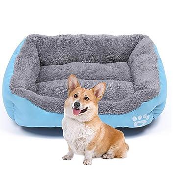 WTTFF* Cama para Mascotas,Estera Cuadrada para Perros ...