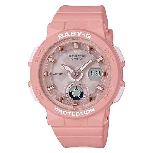 BABY-G Reloj Analógico-Digital para Mujer de Cuarzo con Correa en Resina BGA-250-4AER: Amazon.es: Relojes