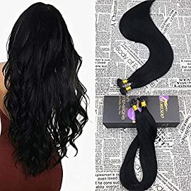Moresoo I tip Hair Extensions 50g 50Strands