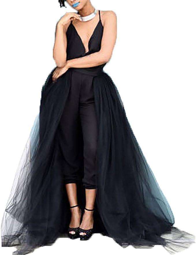 detachable tulle skirt for long dress white tulle long skirt to wear over your dress detachable long skirt for wedding gown Tulle skirt