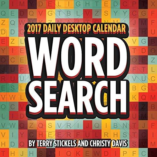 2017 Word Search Daily Desktop Calendar (Search Desktops)