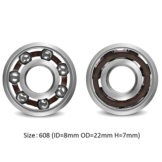 Amazon Coogam 608 Nano Stainless Steel Ball Bearing for