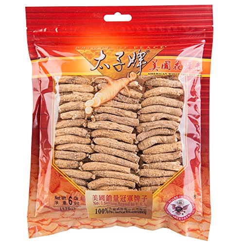 Wisconsin Ginseng Root - Prince of Peace® Wisconsin American Ginseng Small Short Roots (6 oz)