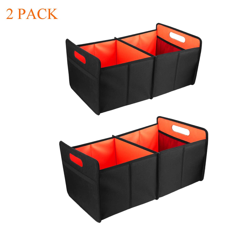 Amazon.com: Zodae Cesta organizadora para maletero de coche ...