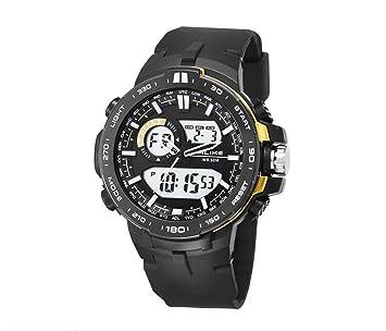 Colofan AK15115 nueva llegada alta calidad reloj Dual marea Unisex tiempo muestra función alarma reloj de