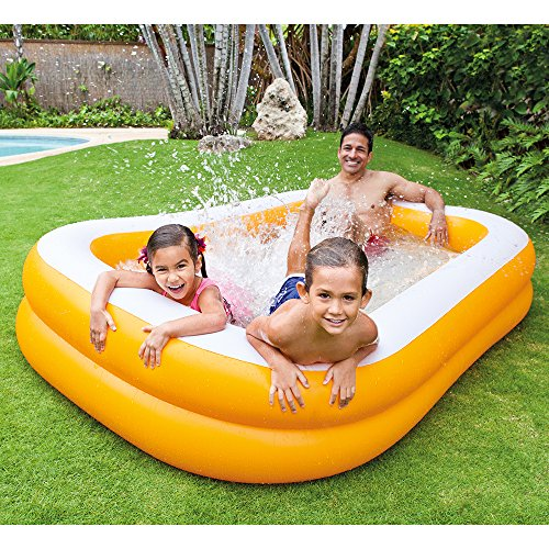 "Intex Mandarin Swim Center Family Pool, 90"" x 58"" x 18"", for Ages 3+"