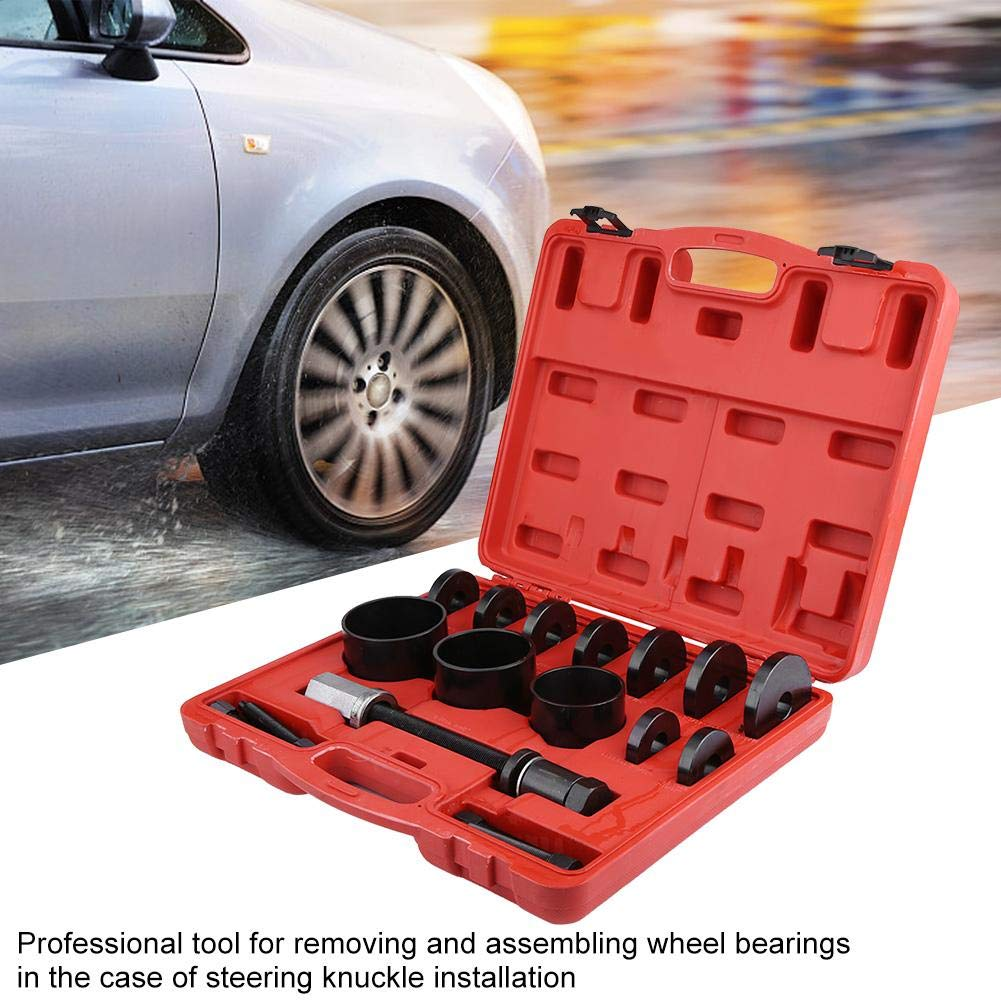 Wheel Bearing Removal Installation Tool Kit Front Wheel Hub Drive Bearing Removal Disassembly Assembly Tool Puller Kit
