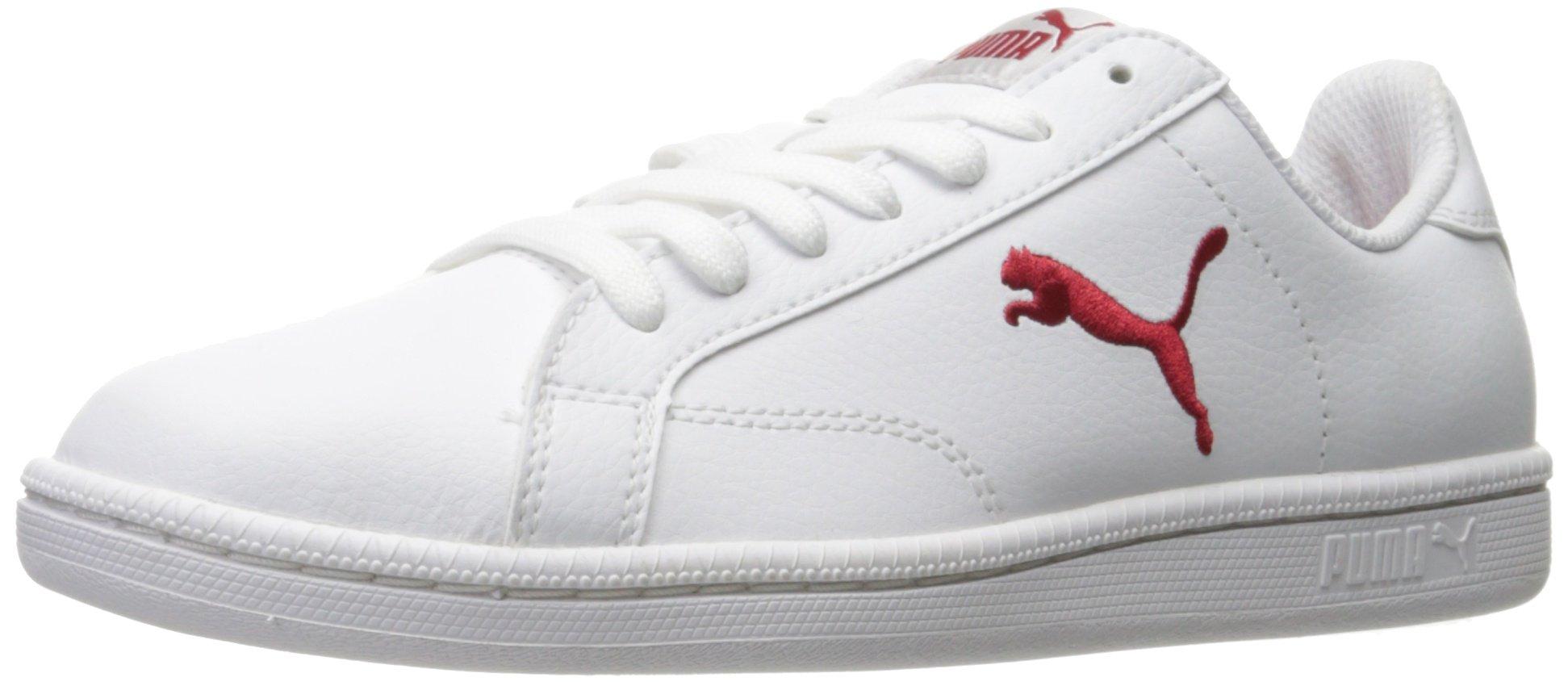 a8d6bbb07ca5 puma mens smash l puma white barbados cherry exquisite style 04a79 ...