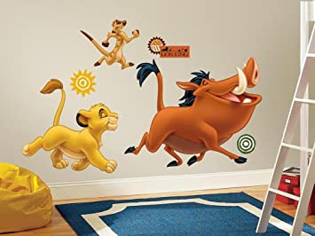 The Lion King Peel U0026 Stick Giant Wall Decals 18 X 40in Pictures
