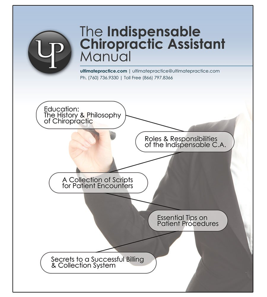 the indispensable chiropractic assistant manual ultimate practice amazoncom books - What Is A Chiropractic Assistant