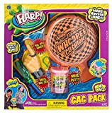 4 Piece Flarp Fart Pack by JA-RU | Prank Kit 1 Self-inflating Whoopee Cushion + Noise Putty + Fart Whistle + Pull My Finger Prank Noise Maker. Kids Toys Make awful Poop Sounds! | 70018