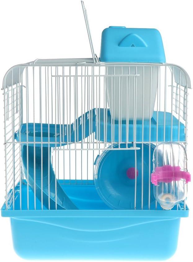 Dabixx Casa de Madera de hámster Mouse House con Disco de ...