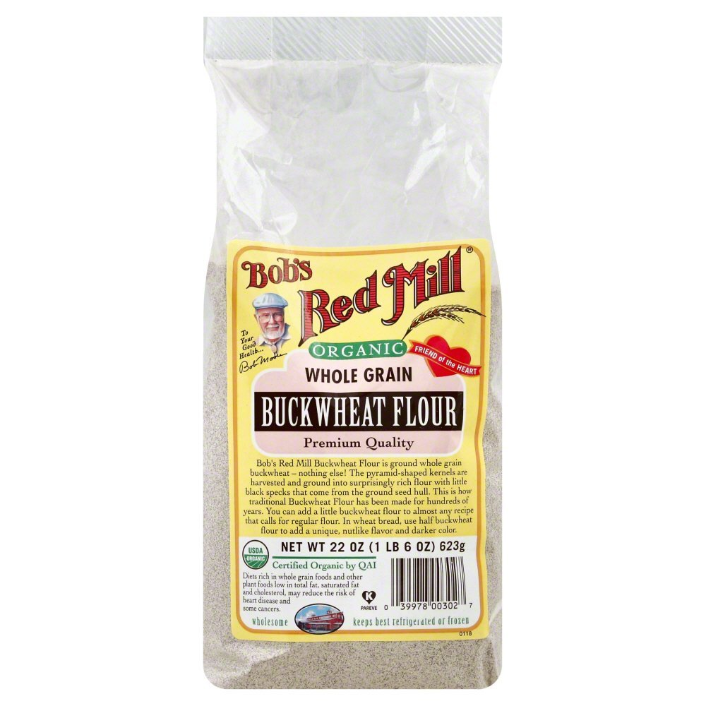 Bob's Red Mill Buckwheat Flour (4x22 Oz)