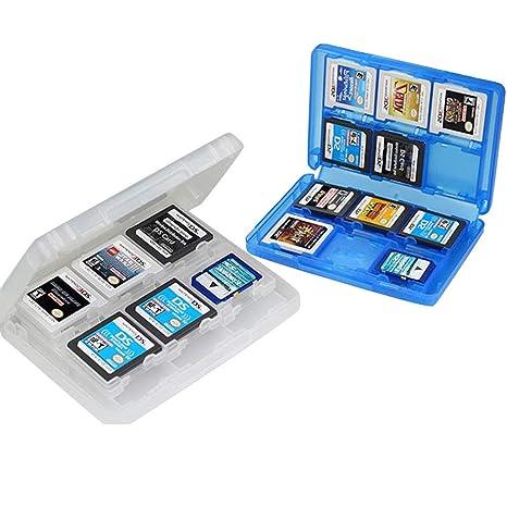 2 Pc Caja de Almacenamiento de Juegos de Nintendo Caja de ...