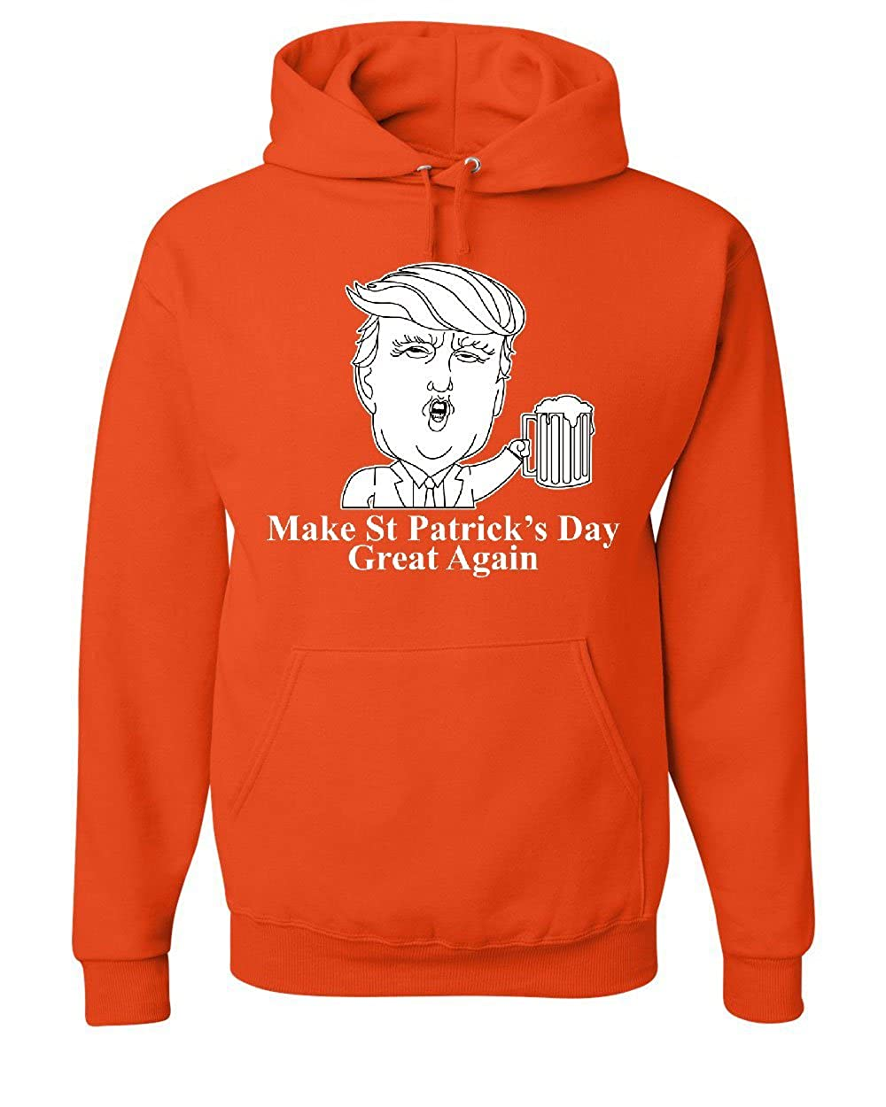 Patricks Day Great Again Hoodie Irish Trump MAGA Beer Sweatshirt Tee Hunt Make ST