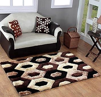 Indian Colors 3D Carpet 5 X 7
