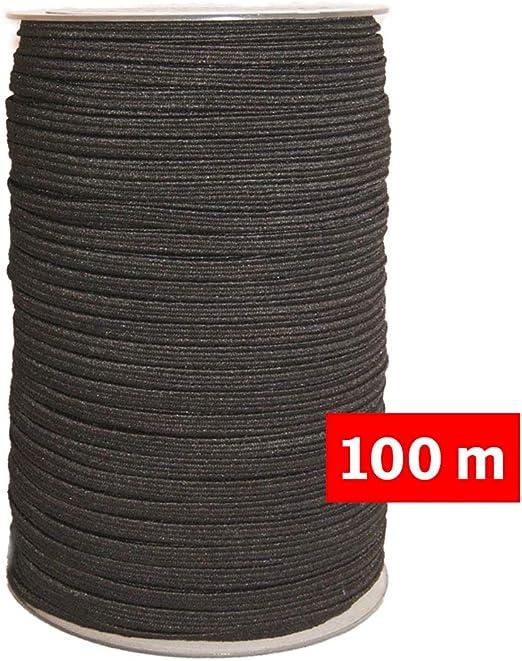 Nueva alta calidad 1 X 10m Blanco 1 X 10m Negro Elástico Hilo De Coser