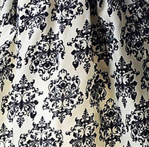 Weekendy en et Mousseline Rond en Manches col et Jersey Longues Manches Robe White Floral Longue Courtes Robe grxSBwgqC