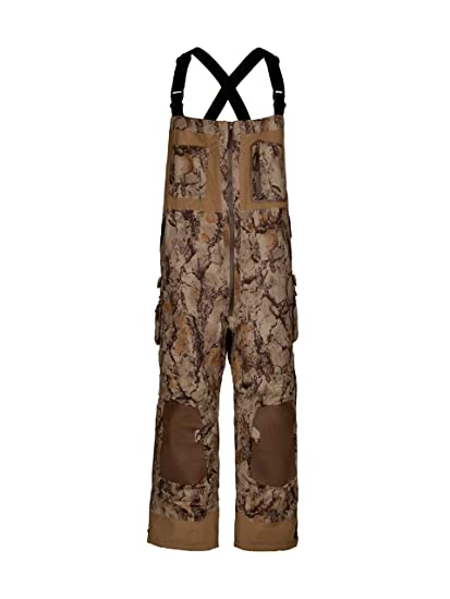 186ad10f7d965 Natural Gear Camouflage Duck Hunting Bib Overall for Men and Women,  Insulated for Cold Weather