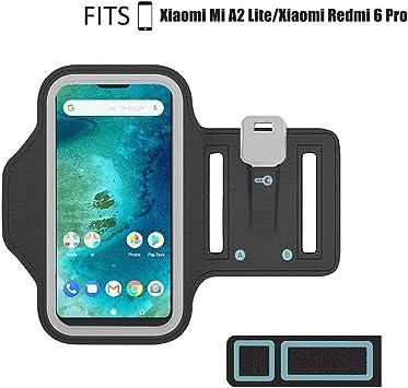 Misha Brazalete Deportivo para Xiaomi Mi A2 Lite/Redmi 6 Pro ...