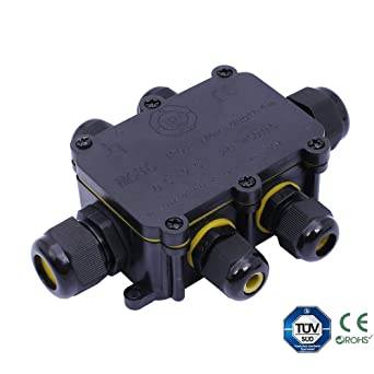 6 Wege IP68 Wasserdicht Elektrisches Kabel Wire Connector ...