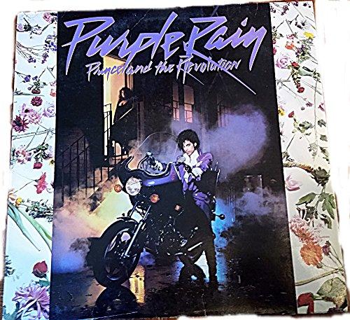Original Prince Purple Rain Vinyl LP with Poster and Inner Photo Sleeve