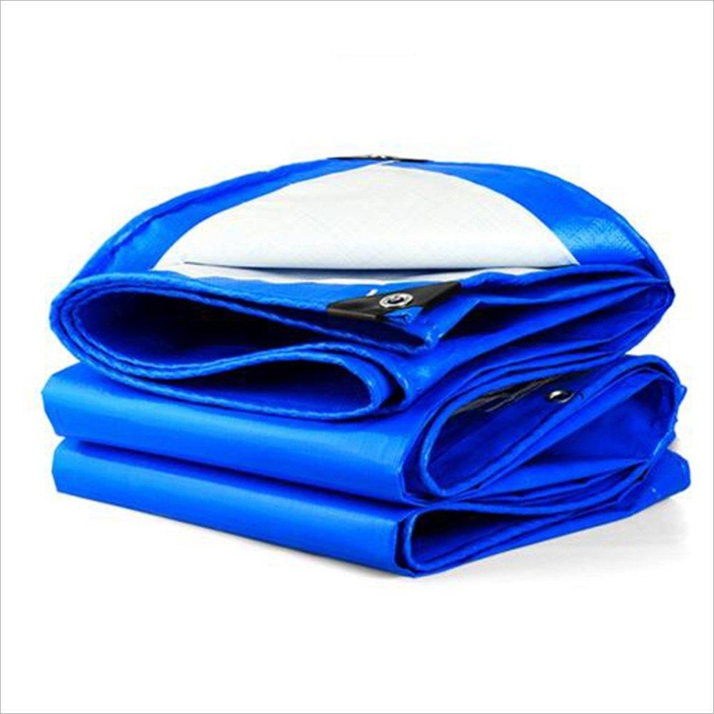 3x 3m Arro Khan JL ZB Multi-usages Panneau De BÂche Imperméable Légère ForteHommest Au Jardin UV étanche en Polyéthylène Bleu Oeillet A+ (Taille   2X 3m)