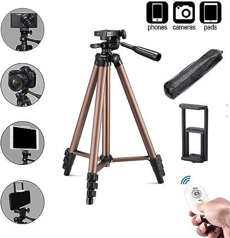 Trípode para cámara, Soporte para Tablet, trípode para Smartphone ...