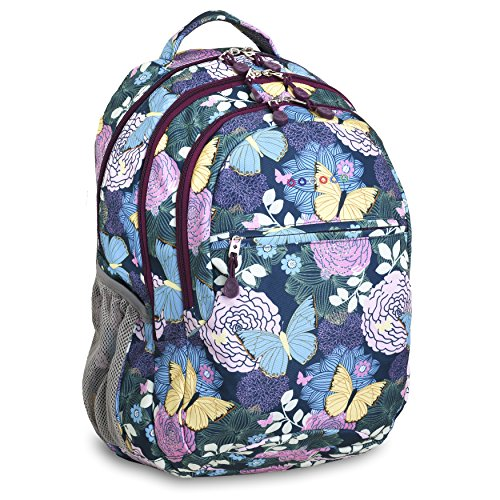J World New York Cornelia Laptop Backpack, Secret Garden