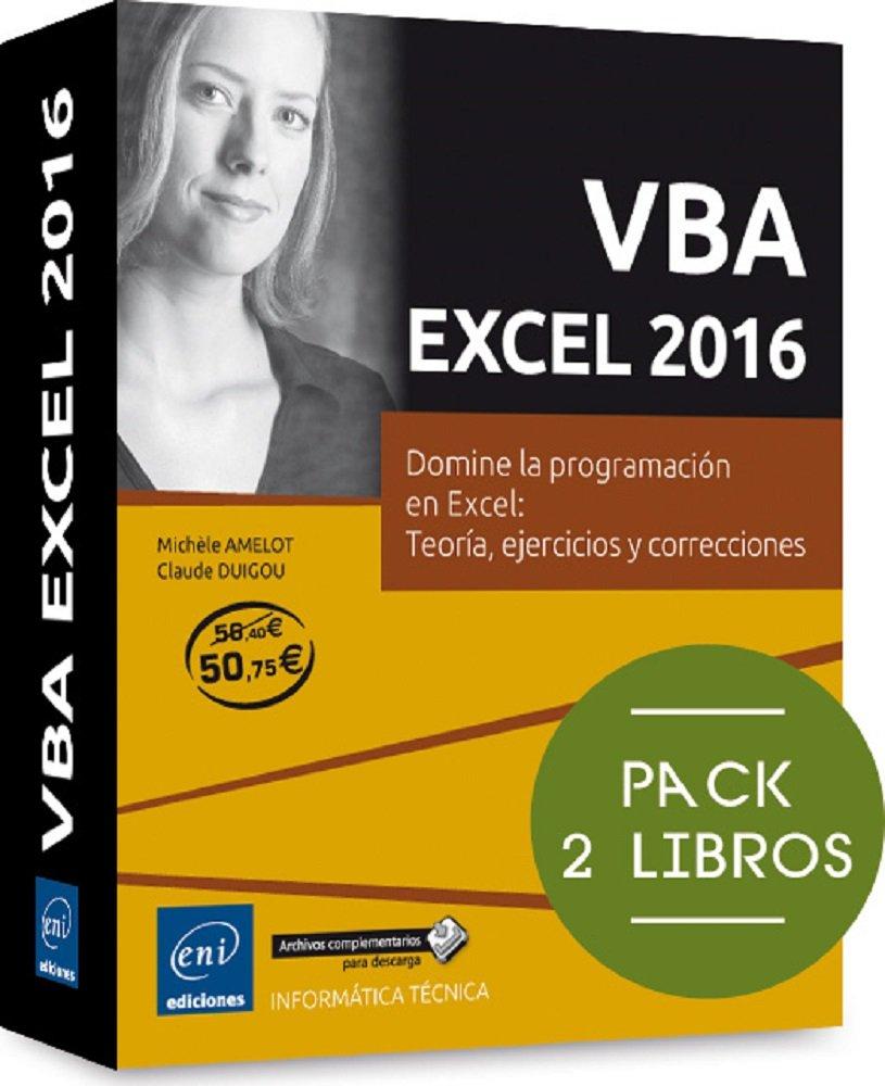 VBA Excel 2016. Pack De 2 Libros: Domine La Programación En Excel ...