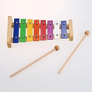 TOOGOO 8-Note di legno Giocattoli musicali didattico Bambino saggezza educativa che lo sviluppo iniziale dello strumento di musica del bambino Giocattoli