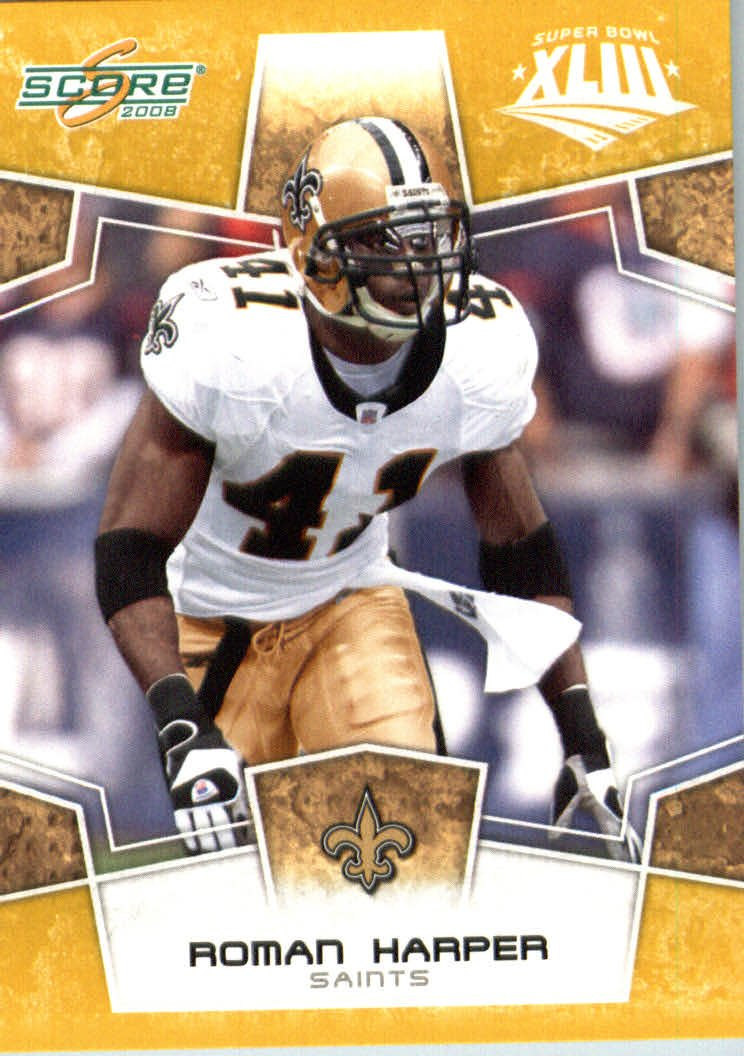 2008スコアSuperbowlゴールドNFLフットボールカード Saints – ( Limited to 800 Made ) 800 # # 199 Roman Harper S – 新しいOrleans Saints B00B7TVWOG, 三島市:4c4825bd --- harrow-unison.org.uk
