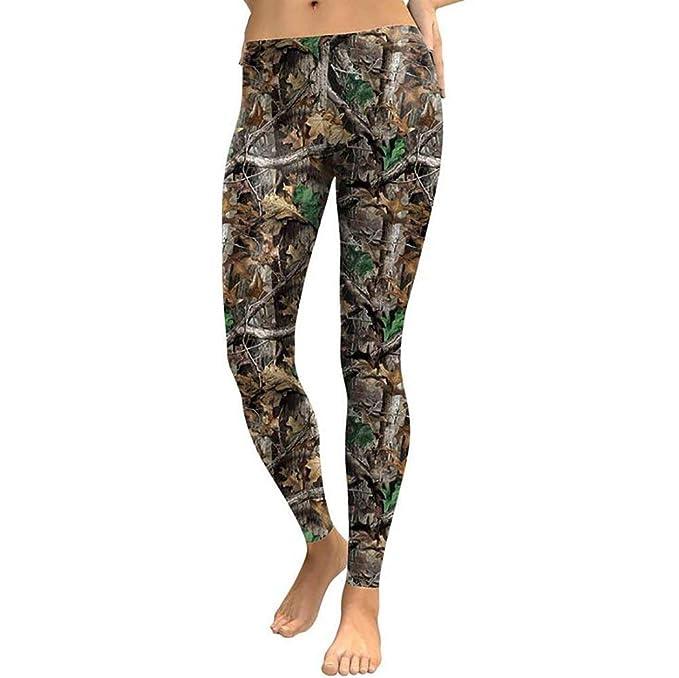 Pantalones De Las Mujeres De Cintura Alta Leggings 3D Fiesta Modernas Casual De La Caza Imprimir Fitness Pantalones De Halloween Skinny Stretch Pantalones ...