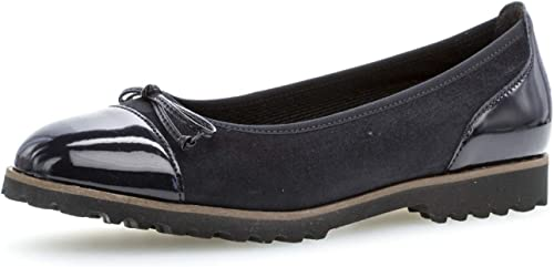 Gabor Chaussures Ballerines Femme, Noir (Black 37), 38 EU