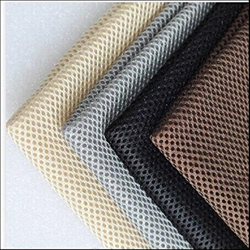 New Speaker Grill Cloth Stereo Gille Fabric Speaker Mesh Cloth Gray 1.4mx0.5m