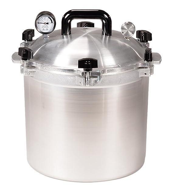 Pressure cooker canner