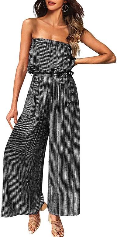 Poachers Vestidos Verano Mujer Tallas Grandes Vestidos Largos Verano Mujer Baratos Vestidos De Fiesta Mujer Largos Elegantes Vestidos Playeros Mujer Mono De Cintura Alta Con Rayas Sexy Amazon Es Ropa Y Accesorios