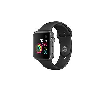 Apple Watch Series 1 Montre connectée, boîtier en Aluminium 42 mm Gris,  avec Bracelet c280dc482fca