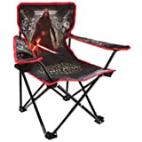 Disney Star Wars Kylo Ren Folding Chair w/ Cupholder and Carry Bag - Kids